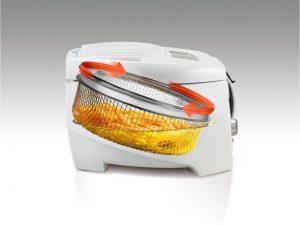 friggitrice cestello rotante